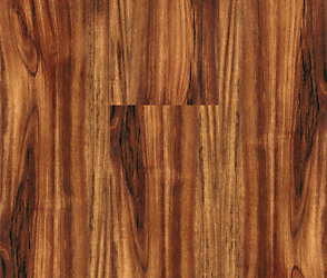 5mm Golden Teak Click Resilient Vinyl Handscraped